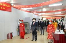 Hàng triệu cử tri Hà Nội nô nức đi bầu cử ngay từ sáng sớm