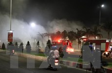 Phú Yên: Thông tin ban đầu về nguyên nhân vụ cháy quán bar Sands Bay