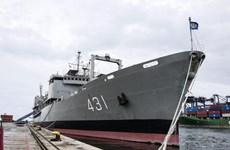 Tàu huấn luyện của hải quân Iran chìm tại Vịnh Oman sau sự cố cháy