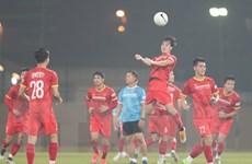 AFC giám sát chặt chẽ buổi tập luyện của đội tuyển Việt Nam