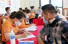 Lạng Sơn: Tiêm vaccine cho lực lượng chức năng tại cửa khẩu Tân Thanh