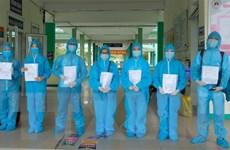 Bắc Ninh: Thêm nhiều bệnh nhân mắc COVID-19 được công bố khỏi bệnh