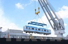 Đã có 5 đoàn tàu metro số 1 được nhập về Thành phố Hồ Chí Minh