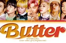 """Ca khúc """"Butter"""" của BTS lập kỷ lục mới trên bảng xếp hạng Billboard"""