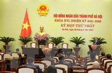 Hình ảnh lễ khai mạc Kỳ họp thứ nhất HĐND thành phố Hà Nội khóa XVI
