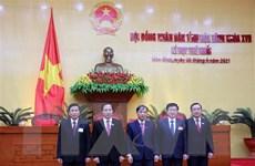 Bầu các chức danh chủ chốt của HĐND, UBND tỉnh Hòa Bình