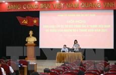 [Photo] TTXVN sơ kết công tác Đảng 6 tháng đầu năm 2021
