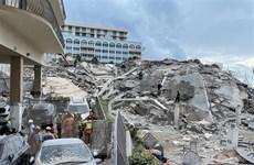 Mỹ: Số người thiệt mạng tăng lên 60 trong vụ sập chung cư ở Florida