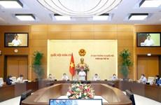 Bế mạc Phiên họp thứ 58 của Ủy ban Thường vụ Quốc hội
