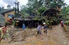 Khẩn trương khắc phục hậu quả do mưa lũ tại Lào Cai, Hà Giang