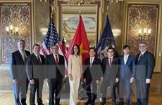 Thúc đẩy hợp tác giữa bang Utah của Mỹ và các đối tác Việt Nam
