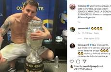 Messi vượt qua Ronaldo để phá kỷ lục trên Instagram