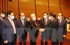 Tổng Bí thư dự lễ khai mạc Kỳ họp thứ nhất, Quốc hội khóa XV