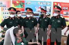 Bộ Quốc phòng phát động phong trào hiến máu trong toàn quân