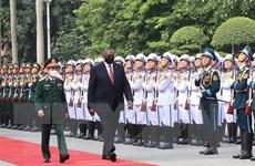 Việt Nam và Hoa Kỳ nhất trí thúc đẩy hợp tác quốc phòng