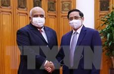 Thủ tướng Chính phủ Phạm Minh Chính tiếp Đại sứ Cuba