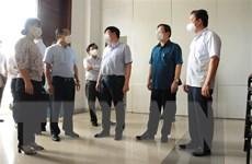 Khảo sát việc thành lập Bệnh viện Hồi sức 500 giường tại Long An