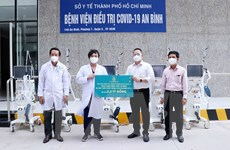 Doanh nghiệp đồng hành cùng lực lượng y tế chống dịch tại TP.HCM