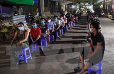 Khoảng 300 người tại chợ Long Biên có kết quả xét nghiệm âm tính lần 1