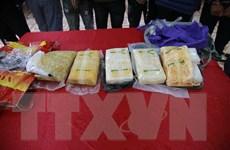 Lực lượng công an tăng cường hợp tác với Lào trong phòng, chống ma túy