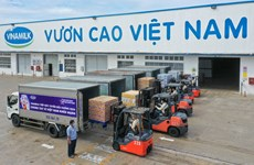 """Vinamilk tiếp tục hành trình """"Bạn khỏe mạnh, Việt Nam khỏe mạnh"""""""