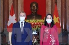 Phó Chủ tịch nước tiếp Phó Tổng thống, Bộ trưởng Ngoại giao Thụy Sĩ