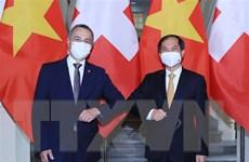 Thúc đẩy hơn nữa quan hệ hữu nghị tốt đẹp Việt Nam-Thụy Sĩ