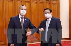 Thủ tướng Phạm Minh Chính tiếp Phó Tổng thống Liên bang Thụy Sỹ