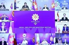 ASEAN, Canada, New Zealand tăng hợp tác để ứng phó với COVID-19