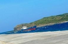 Bình Thuận khắc phục sự cố tàu Minh Khang CR 59 nguy cơ mắc cạn