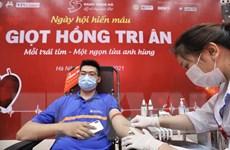 Hà Nội: Hiến máu an toàn trong thời gian thực hiện giãn cách xã hội