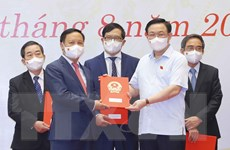 Gặp mặt đại biểu Quốc hội chuyên trách ở TW khóa XIV không tái cử