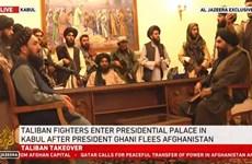 Afghanistan: Taliban tuyên bố đã kiểm soát Phủ Tổng thống