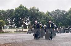 Tiếp nhận lực lượng tăng cường phòng, chống dịch của Bộ Công an