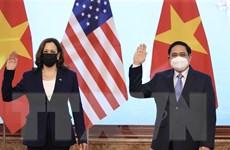 [Photo] Thủ tướng tiếp Phó Tổng thống Hoa Kỳ Kamala Harris