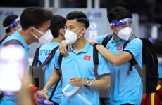 [Photo] Đội tuyển Việt Nam lên đường sang Saudi Arabia