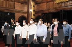 Thủ tướng Phạm Minh Chính kiểm tra tình hình sản xuất tại Thái Nguyên