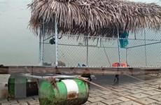 Lật nhà bè tại Thanh Hóa, 7 người thoát chết, 2 người tử vong