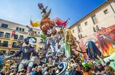 """Lễ hội """"Fallas"""" rực rỡ sắc màu tại Tây Ban Nha"""