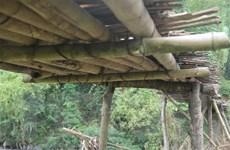 Yên Bái: Người dân mong mỏi có cây cầu kiên cố bắc qua suối Nậm