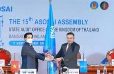 Chủ tịch Kiểm toán Thái Lan chính thức đảm nhiệm Chủ tịch ASOSAI
