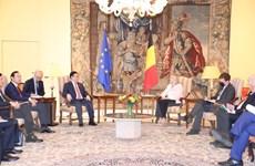 Chủ tịch Quốc hội hội đàm với Chủ tịch Hạ viện Vương quốc Bỉ