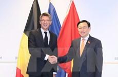 Chủ tịch Quốc hội gặp Phó Thủ tướng Bỉ Pierre-Yves Dermagne