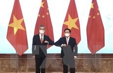 [Photo] Phó Thủ tướng Phạm Bình Minh đón tiếp Ngoại trưởng Trung Quốc