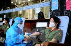 Hơn 200 cán bộ chiến sỹ Bộ Công an tại TP.HCM hiến máu tình nguyện