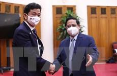 Thủ tướng Phạm Minh Chính tiếp Bộ trưởng Quốc phòng Nhật Bản