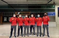 Tuyển quần vợt Việt Nam lên đường dự giải đồng đội quốc tế Davis Cup