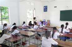 An Giang xét nghiệm cho 46.000 học sinh lớp 9 và 12 để đến trường