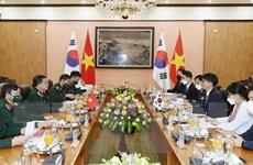Tăng cường quan hệ hợp tác quốc phòng Việt Nam-Hàn Quốc