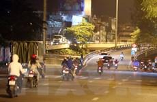 Đường phố Hà Nội sau khi 39 chốt kiểm soát ra vào vùng 1 được dỡ bỏ